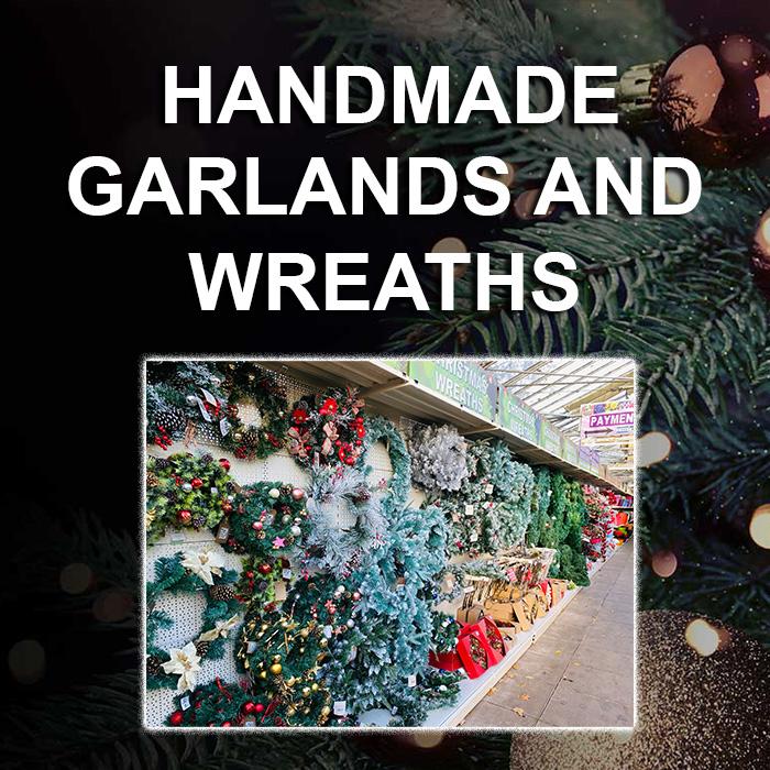 Handmade Garlands and Wreaths